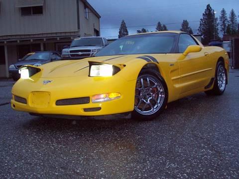 2003 Chevrolet Corvette for sale at PSB Auto Sales in Grass Valley CA