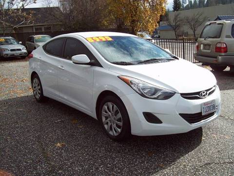2011 Hyundai Elantra for sale at PSB Auto Sales in Grass Valley CA