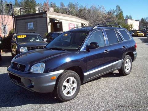 2004 Hyundai Santa Fe for sale at PSB Auto Sales in Grass Valley CA