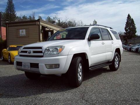 2004 Toyota 4Runner for sale at PSB Auto Sales in Grass Valley CA