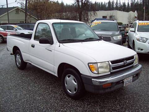 1999 Toyota Tacoma for sale at PSB Auto Sales in Grass Valley CA