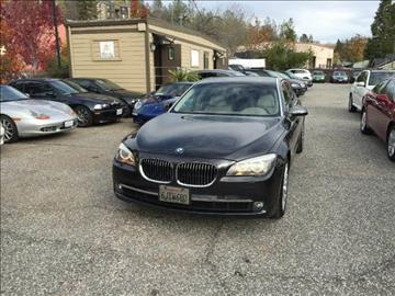 2009 BMW 7 Series for sale at PSB Auto Sales in Grass Valley CA
