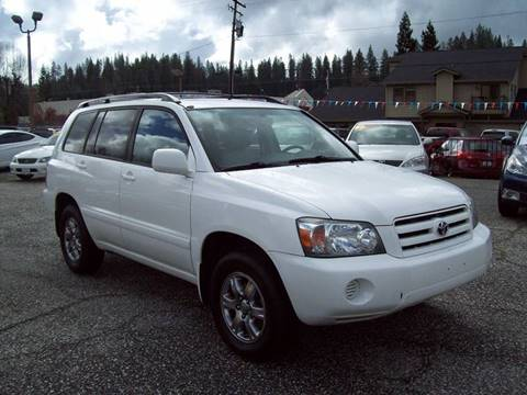 2005 Toyota Highlander for sale at PSB Auto Sales in Grass Valley CA