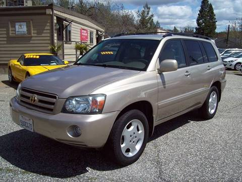 2006 Toyota Highlander for sale at PSB Auto Sales in Grass Valley CA