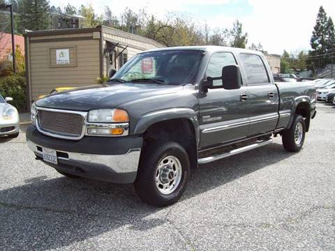 2002 GMC Sierra 2500HD for sale at PSB Auto Sales in Grass Valley CA