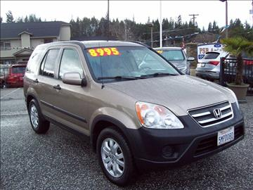 2005 Honda CR-V for sale at PSB Auto Sales in Grass Valley CA