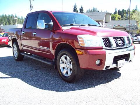 2006 Nissan Titan for sale at PSB Auto Sales in Grass Valley CA