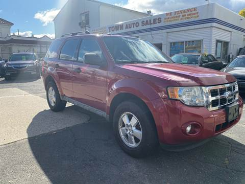 2010 Ford Escape for sale at Town Auto Sales Inc in Waterbury CT