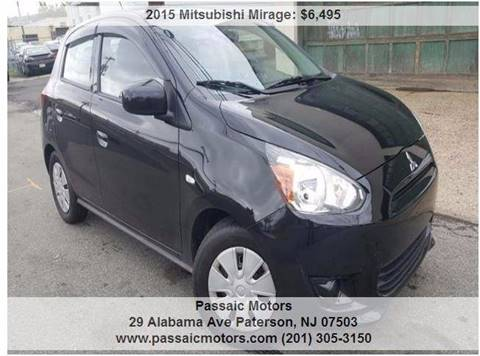 2015 Mitsubishi Mirage for sale in Paterson, NJ