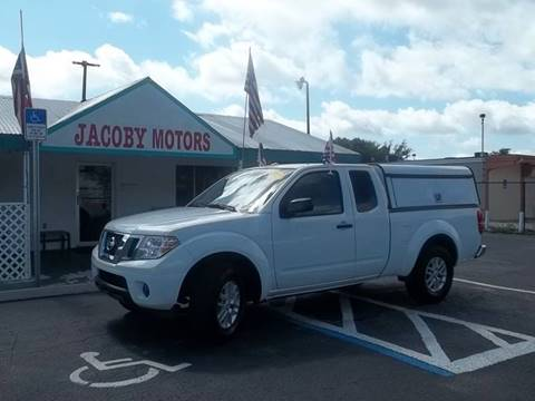 2015 Nissan Frontier for sale at Jacoby Motors in Fort Myers FL