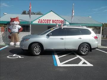2014 Nissan Pathfinder for sale at Jacoby Motors in Fort Myers FL
