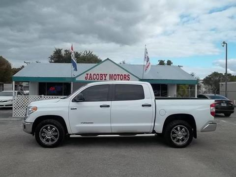 2014 Toyota Tundra for sale at Jacoby Motors in Fort Myers FL
