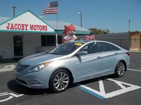 2012 Hyundai Sonata for sale at Jacoby Motors in Fort Myers FL