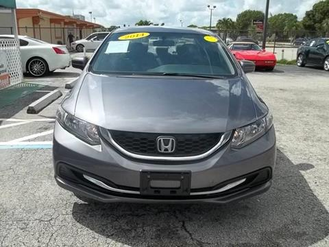 2014 Honda Civic for sale at Jacoby Motors in Fort Myers FL