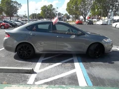 2013 Dodge Dart for sale at Jacoby Motors in Fort Myers FL