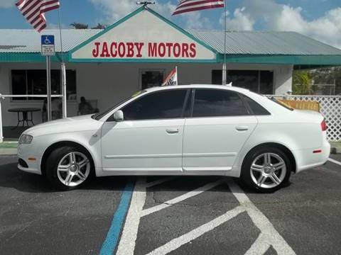 2008 Audi A4 for sale at Jacoby Motors in Fort Myers FL