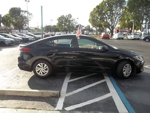 2017 Hyundai Elantra for sale at Jacoby Motors in Fort Myers FL