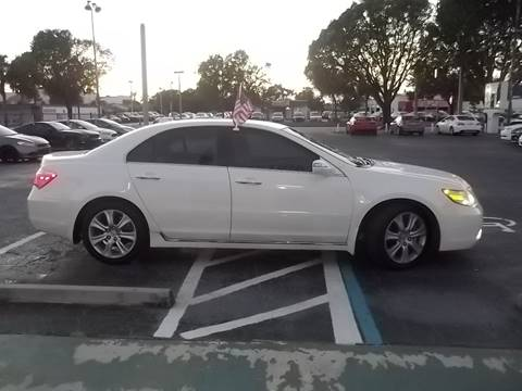 2009 Acura RL for sale at Jacoby Motors in Fort Myers FL