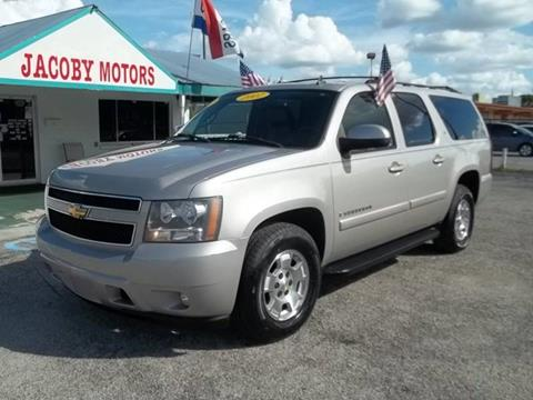 2007 Chevrolet Suburban for sale at Jacoby Motors in Fort Myers FL