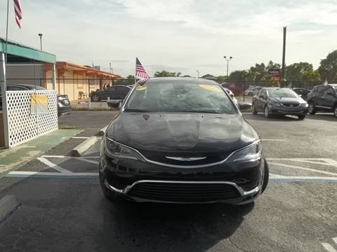 2016 Chrysler 200 for sale at Jacoby Motors in Fort Myers FL