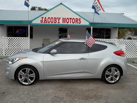 2016 Hyundai Veloster for sale at Jacoby Motors in Fort Myers FL