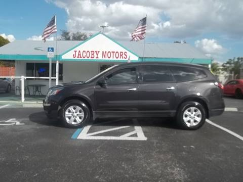 2015 Chevrolet Traverse for sale at Jacoby Motors in Fort Myers FL