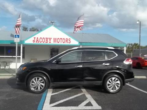 2014 Nissan Rogue for sale at Jacoby Motors in Fort Myers FL
