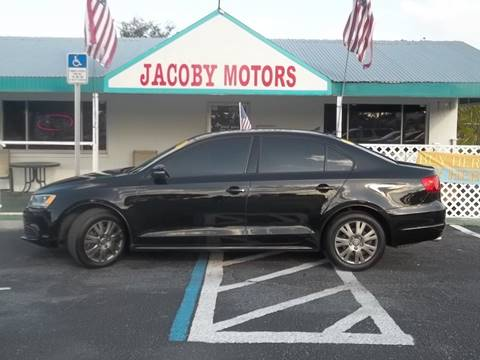 2014 Volkswagen Jetta for sale at Jacoby Motors in Fort Myers FL