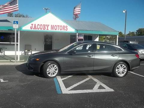 2016 Chevrolet Malibu for sale at Jacoby Motors in Fort Myers FL