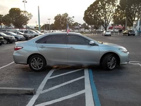 2015 Toyota Camry for sale at Jacoby Motors in Fort Myers FL