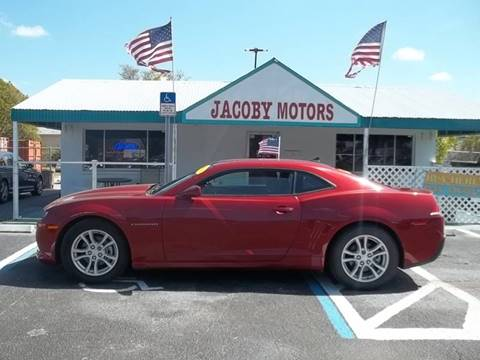 2015 Chevrolet Camaro for sale at Jacoby Motors in Fort Myers FL