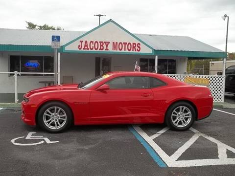 2014 Chevrolet Camaro for sale at Jacoby Motors in Fort Myers FL
