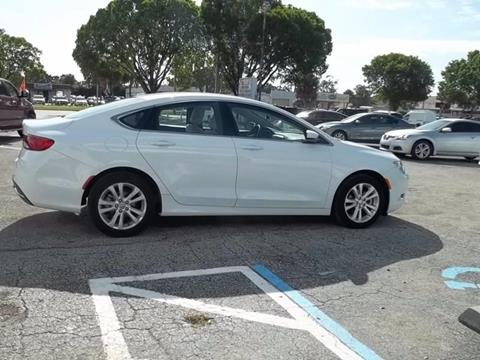 2015 Chrysler 200 for sale at Jacoby Motors in Fort Myers FL