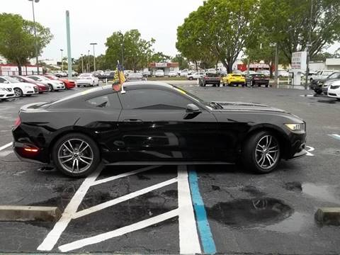 2017 Ford Mustang for sale at Jacoby Motors in Fort Myers FL
