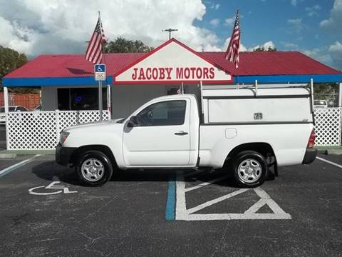 2014 Toyota Tacoma for sale at Jacoby Motors in Fort Myers FL