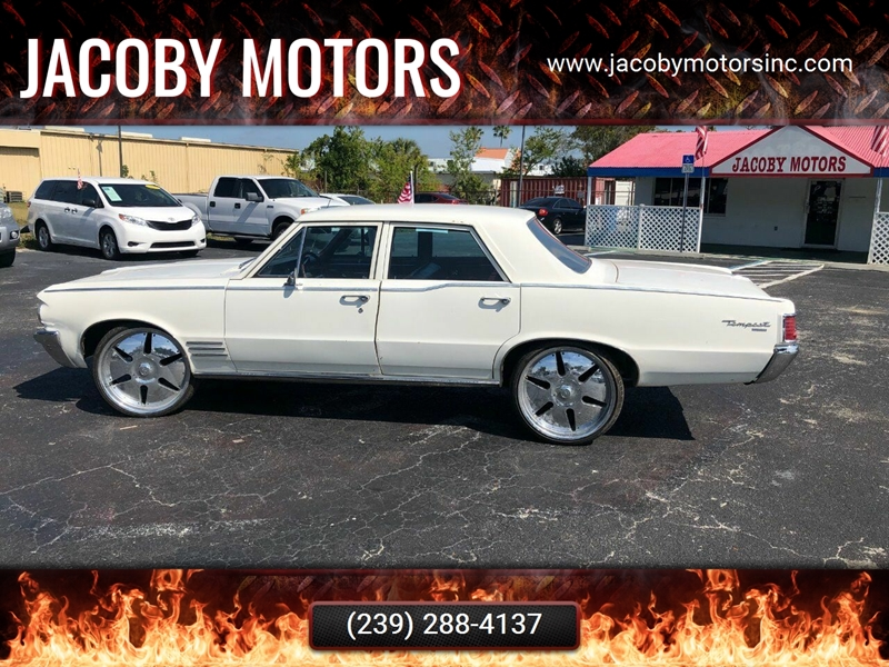 1964 Pontiac Tempest for sale at Jacoby Motors in Fort Myers FL