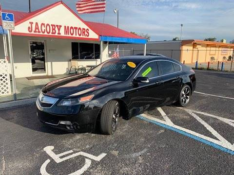 2013 Acura TL for sale at Jacoby Motors in Fort Myers FL