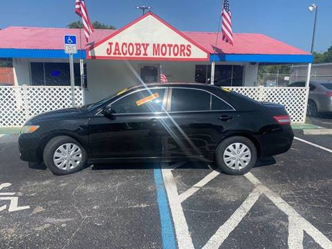 2011 Toyota Camry for sale at Jacoby Motors in Fort Myers FL