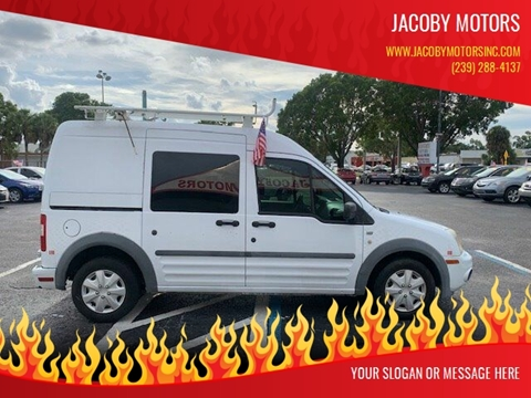 2011 Ford Transit Connect for sale at Jacoby Motors in Fort Myers FL