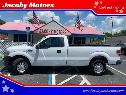 2014 Ford F-150 for sale at Jacoby Motors in Fort Myers FL