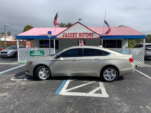 2015 Chevrolet Impala LS for sale at Jacoby Motors in Fort Myers FL