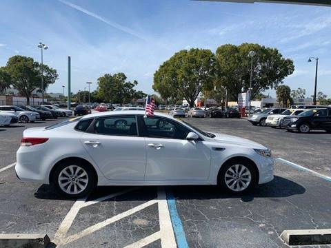 2016 Kia Optima LX for sale at Jacoby Motors in Fort Myers FL