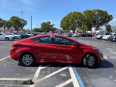 2015 Hyundai Elantra SE for sale at Jacoby Motors in Fort Myers FL
