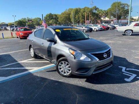 2018 Nissan Versa SV for sale at Jacoby Motors in Fort Myers FL
