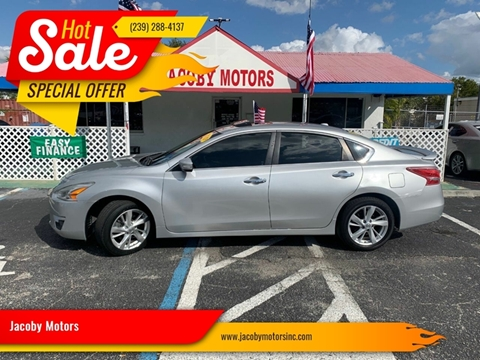 2013 Nissan Altima 2.5 SL for sale at Jacoby Motors in Fort Myers FL