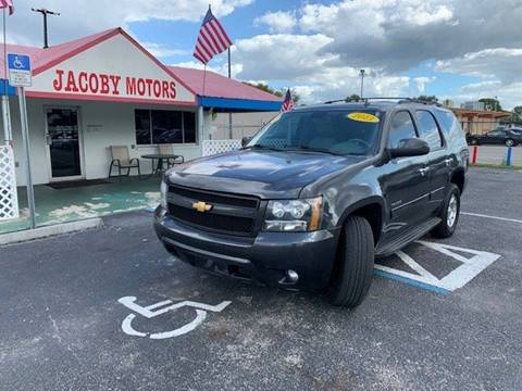 2013 Chevrolet Tahoe for sale at Jacoby Motors in Fort Myers FL