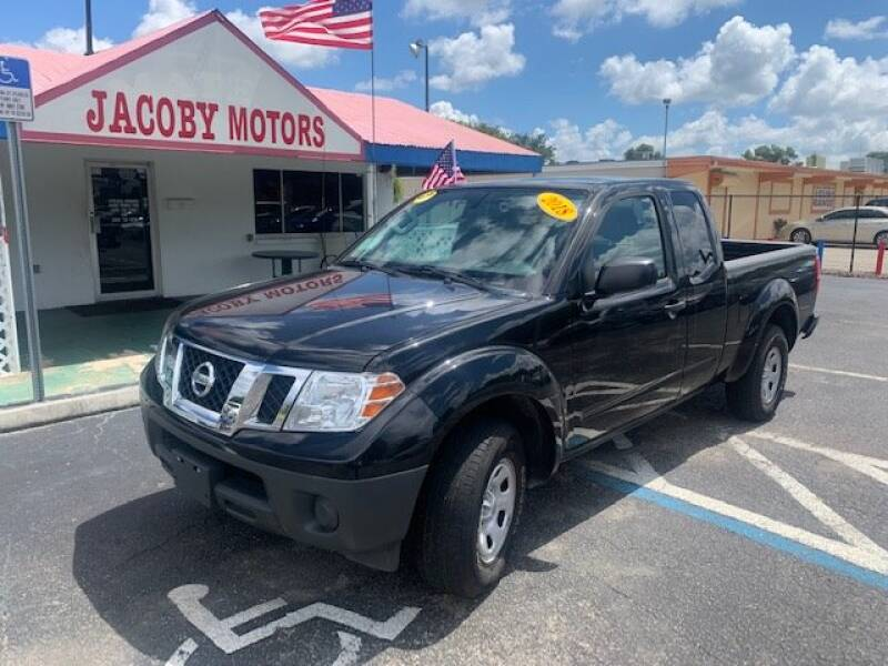 2018 Nissan Frontier for sale at Jacoby Motors in Fort Myers FL