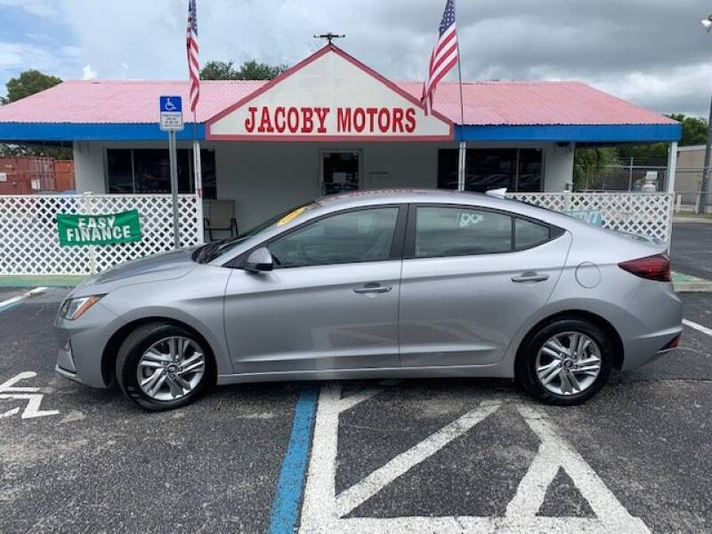 2020 Hyundai Elantra for sale at Jacoby Motors in Fort Myers FL
