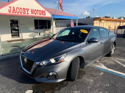 2020 Nissan Altima for sale at Jacoby Motors in Fort Myers FL