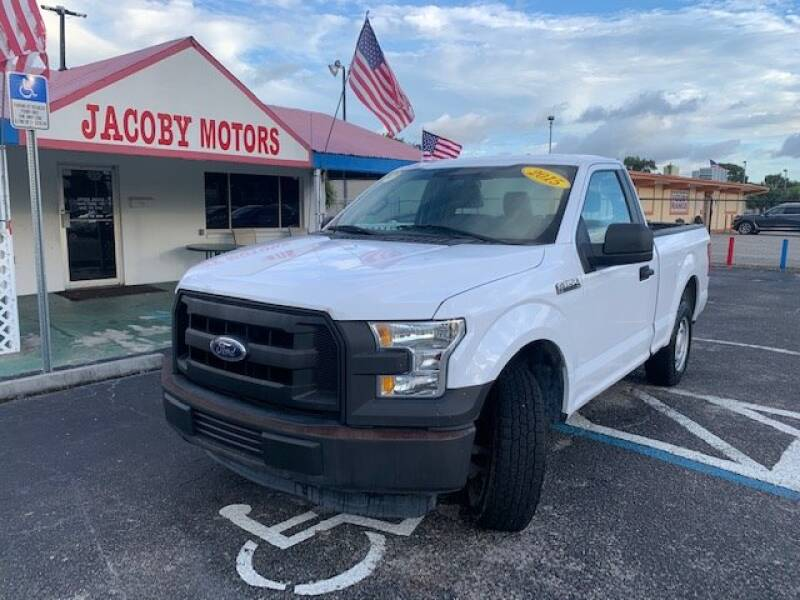 2015 Ford F-150 for sale at Jacoby Motors in Fort Myers FL